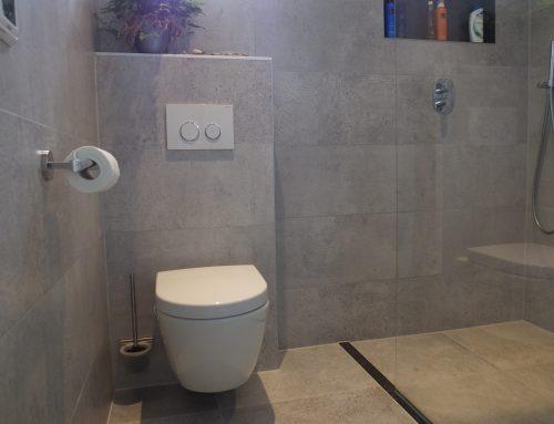 Badkamer verbouwing te Oudewater